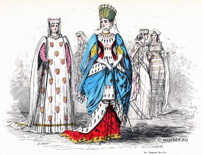 Margaret, Provence, middle ages, fashion, history