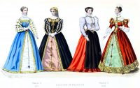 Fashion, history, Renaissance, Spanish, court dress, Francis II