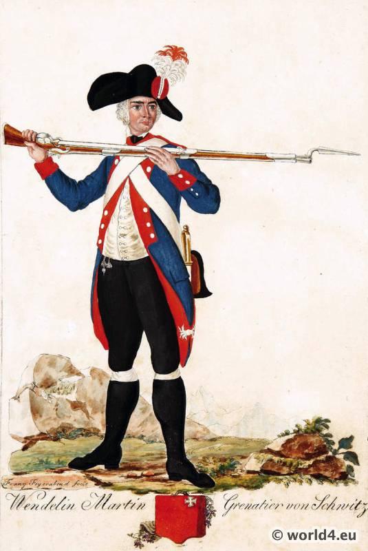 Switzerland, military, uniform, Grenadier, Schwitz, soldier, Swiss, army,