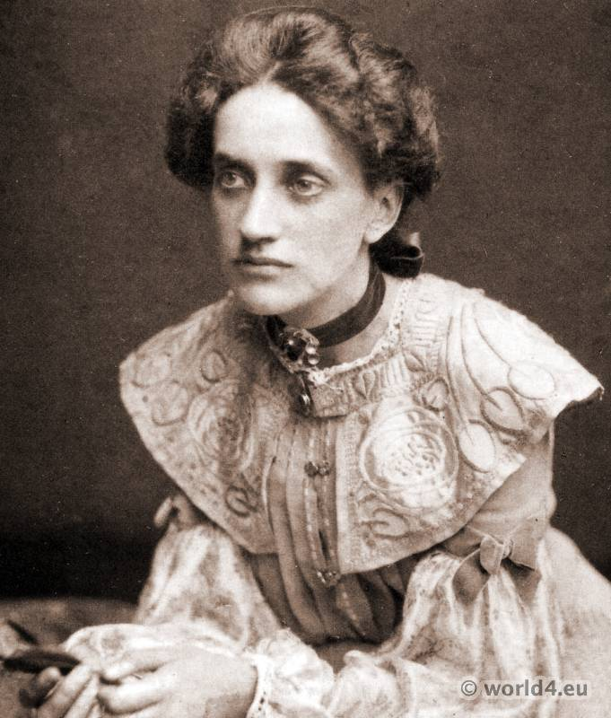 Artist and Suffragette Ann Macbeth. Glasgow art and Craft Movement. Embroideries. Embroidery Design.