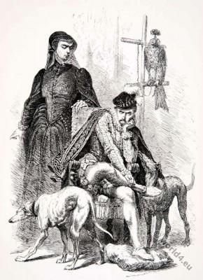Catherine, Medici, Charles, Alphonse Neuville, Renaissance