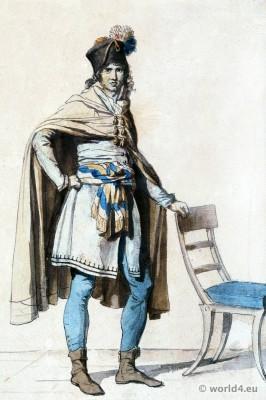 Jacques-Louis David. Directory costume. French revolution fashion. Habit de législateur.