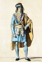 Jacques-Louis David. Directory costume. French revolution fashion. France directoire mens dress