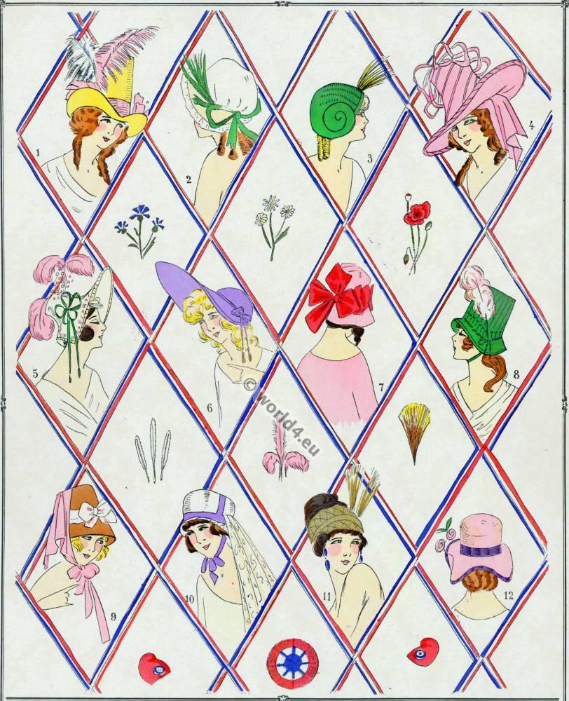 Modes, Revolution, Réseau, Chapeau, Chapeaux,