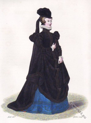 Dame, Belleville. Marie Touchet  Comtesse  d'Entragues,