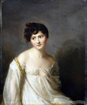 titus, Juliette Recamier, fashion, france, revolution, Directory,