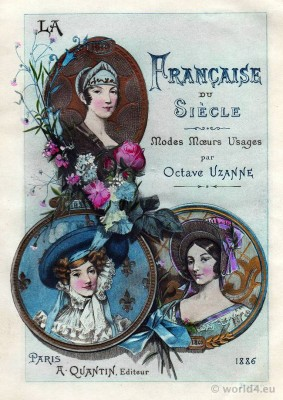 Nymphs and Merveilleuses. French revolution fashion. Directoire costume history. Directory, Empire fashion history.