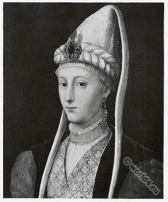 Francesco Primaticcio, Lady, Renaissance, costume