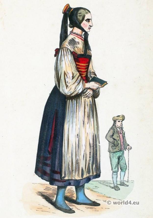 traditional, costume, garb, Ulm, Baden Wurttemberg, Germany