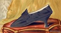 Shoe, fashion, Tudor, Mary Stuart, Renaissance,