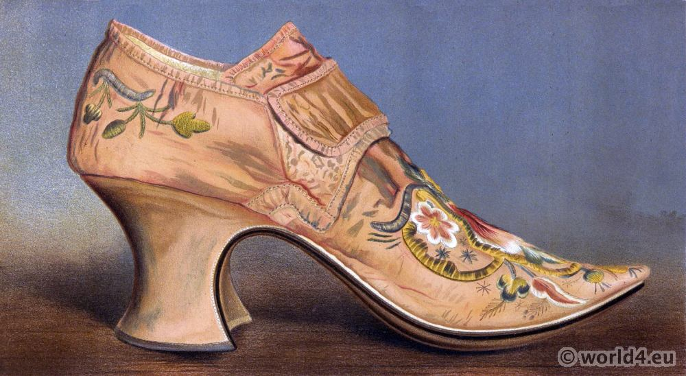 buckled shoe, Baroque, fashion,