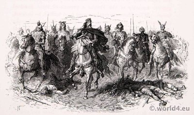 Carolingian, Charlemagne, Charles the Great, Battlefield, Middle Ages,