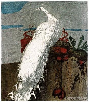 White Peacock, Vienna, Secession, Hans Frank,