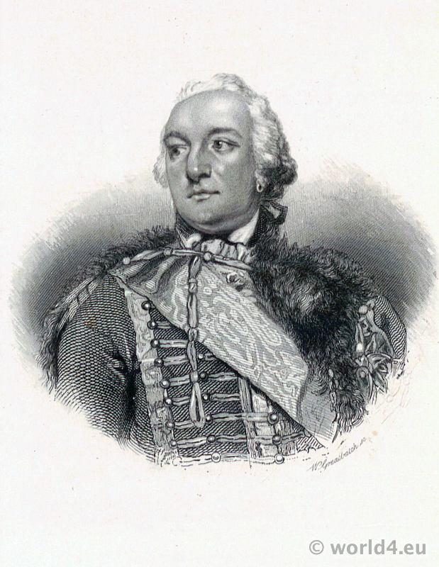 Portrait Philippe d'Orléans. Citoyen Égalité. French Revolution History costume. Grand Master of the Masonic Grand Orient costume