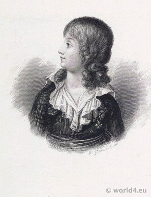 Dauphin, Prince Royal, Louis Charles de Bourbon, Louis XVII,