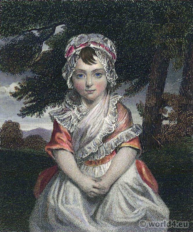 Portrait Lady Charlotte Cavendish-Bentinck. French Revolution History. Directoire costume. Prime Minister of Great Britain