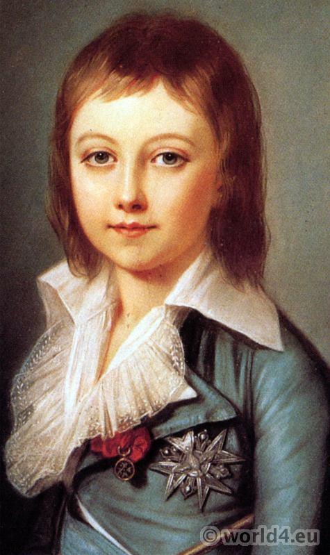 Dauphin, Prince Royal, Louis Charles de Bourbon, Louis XVII,  Alexander Kucharski,