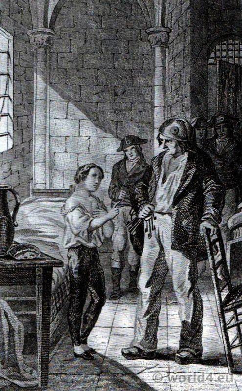 Louis XVII, Temple,Antoine Simon, Jacobin, French, Revolution,