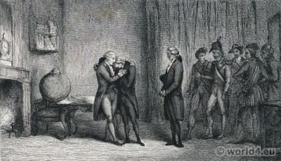 Chrétien-Guillaume de Lamoignon de Malesherbes. Louis XVI . French Revolution costumes history