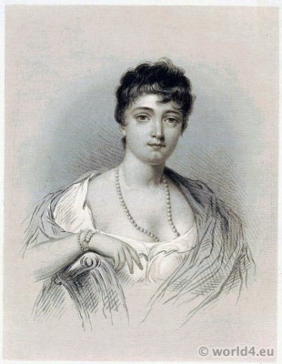 Madame Tallien, Coiffure, Titus, French, Revolution, costume, Directoire