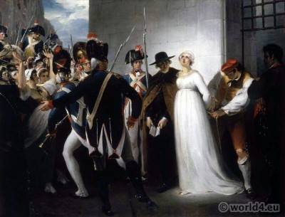 French, Revolution, Marie Antoinette, execution,