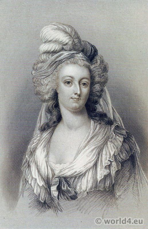 Portrait, Queen, Marie Antoinette, French,