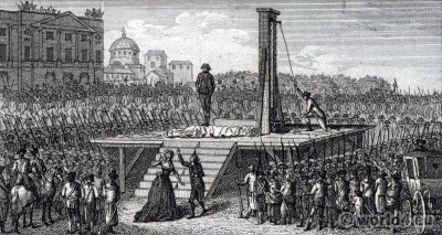 Place, Révolution, Marie Antoinette, Execution, guillotine, French,  revolution, execution