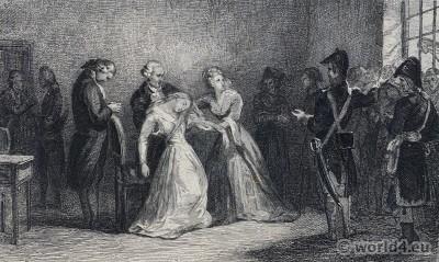 Princess, Élisabeth, Marie Antoinette, French, Revolution, conciergerie,