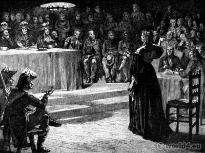 Marie Antoinette. Revolutionary Tribunal. French Revolution history. Directoire costumes