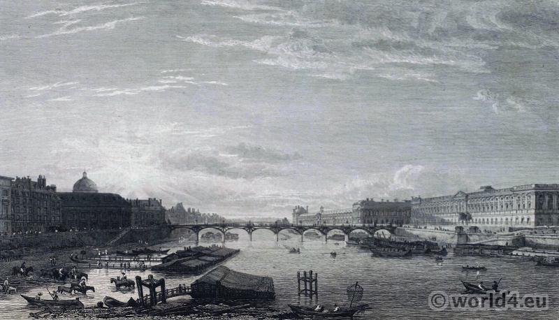 Paris, Pont Neuf, 18th century