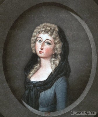 Marie Thérèse Charlotte, France, Daughter, Marie Antoinette, Madame, Royale, French Revolution,