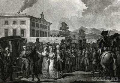 Marie Thérèse Charlotte, France,  Princess Royal, French Revolution