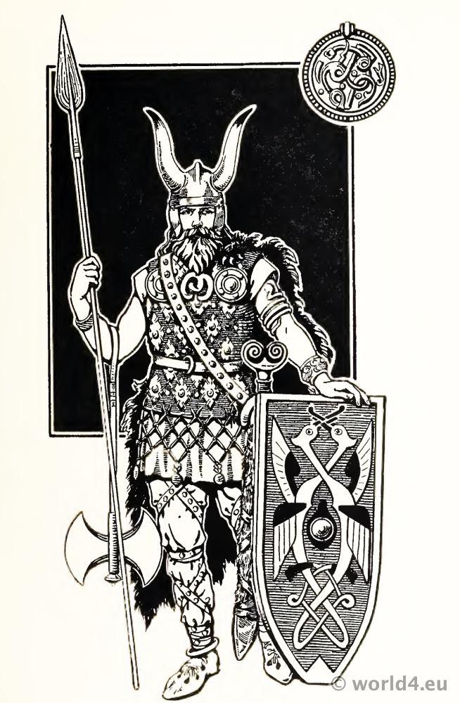 Viking, Costume, Varangian, Guard, Byzantine