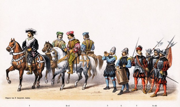 Claude de Silly, marshal, Renaissance, military costumes, Emperor, Charles V,