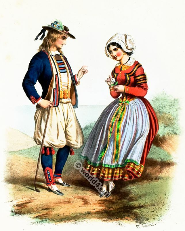 Brittany, Costumes, Alexandre Lacauchie, fashion history