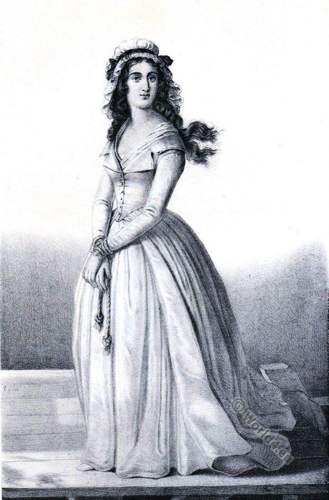 Charlotte Corday. Asassination. Marat. French revolution