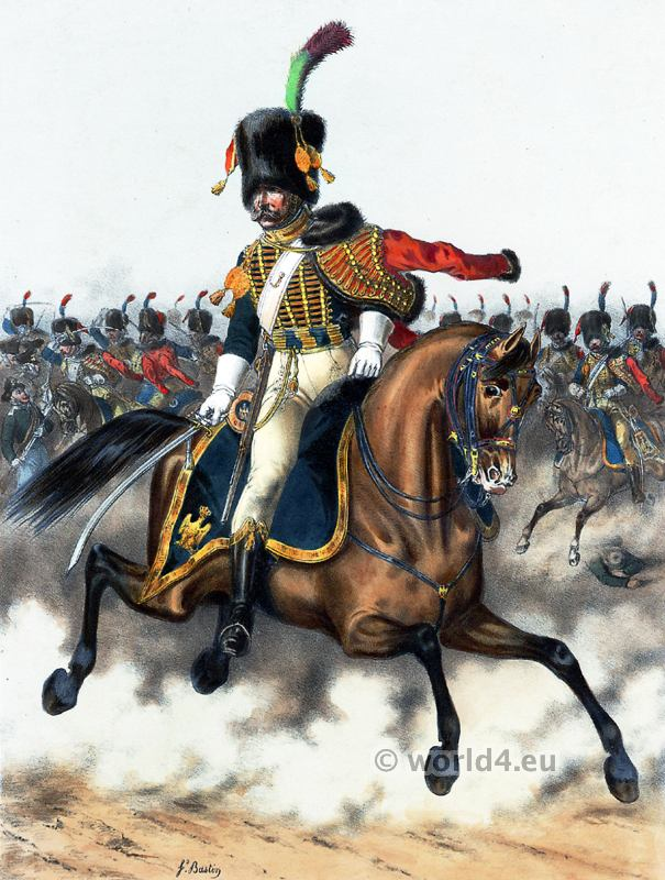 Imperial Guard. French Army uniforms. France Military costumes