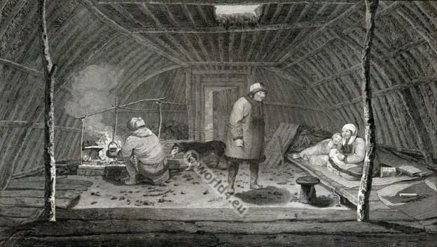 Kamchatka, Habitation, русская, традиционная, одежда,