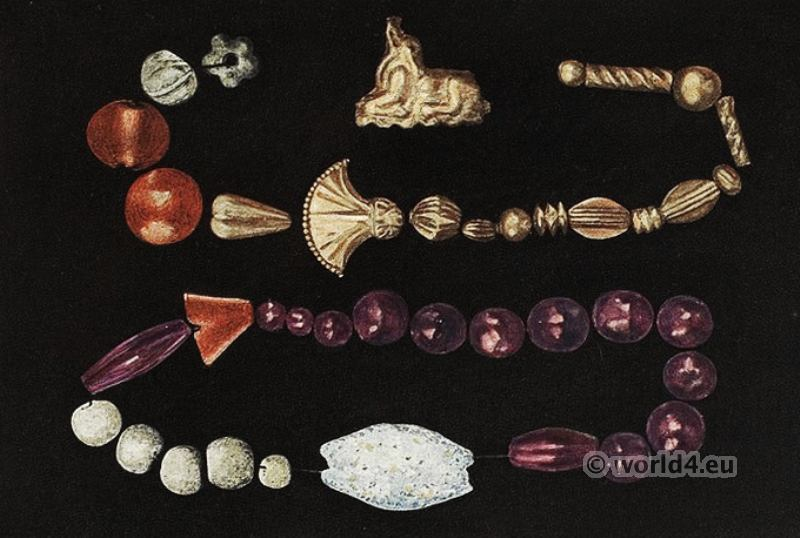 Beads, Temple, Tomb, Knossos, Minoan, jewelry