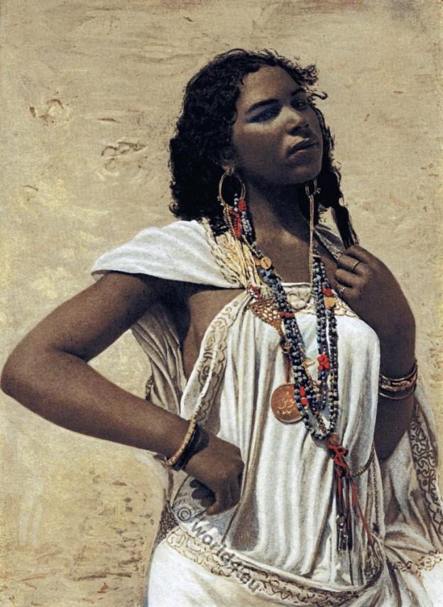 Arabian, woman, Traditional, costume, Arab, clothing