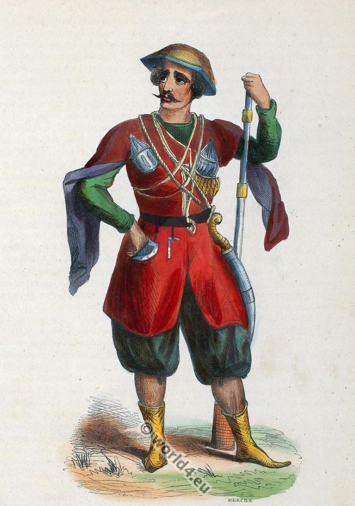 Prince, Imereti, Georgia, clothing, dress, Asia, costumes, Auguste Wahlen