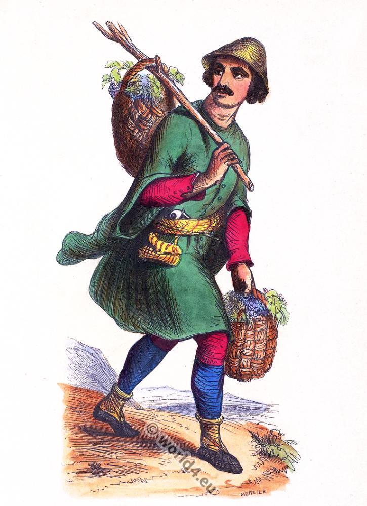 Samegrelo, Georgian, Megrelia, clothing, dress, Asia, costumes, Auguste Wahlen