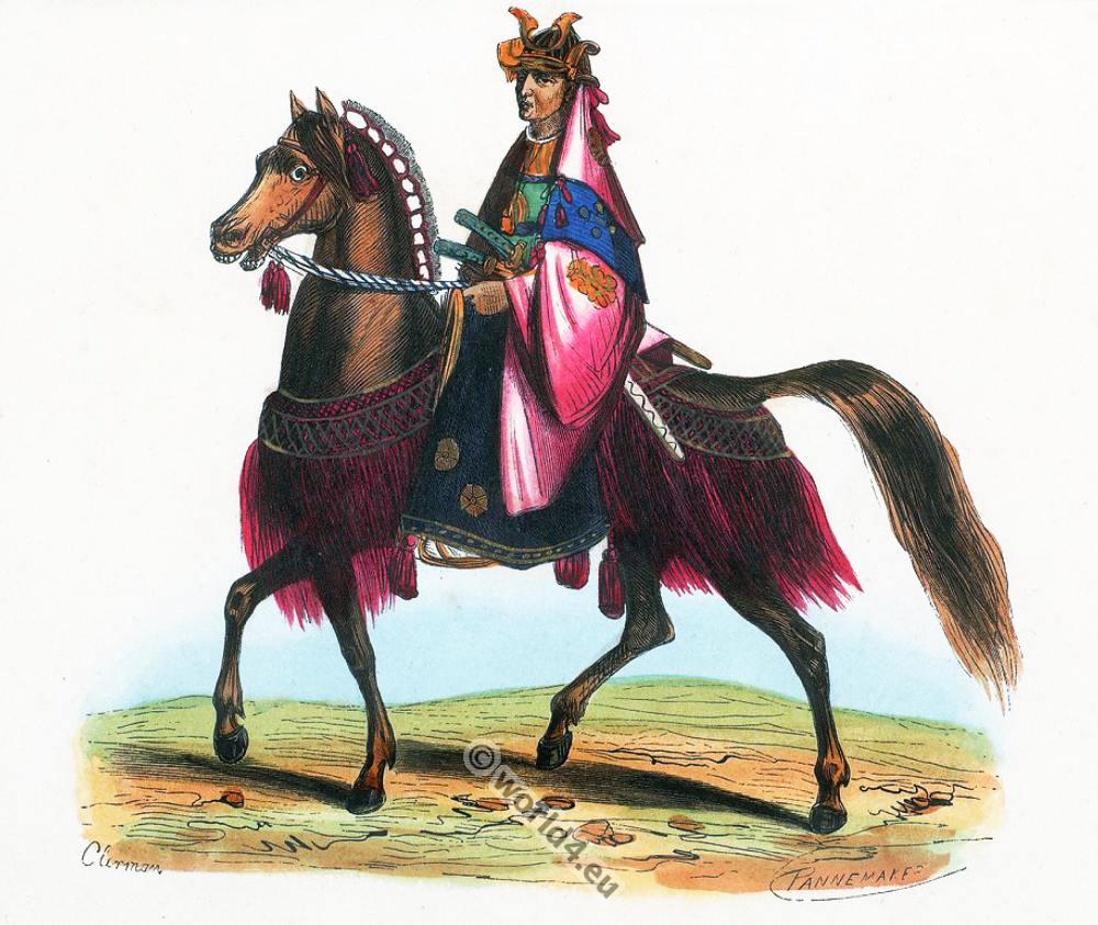 Japanese General, Japan, Asia, costumes, Auguste Wahlen