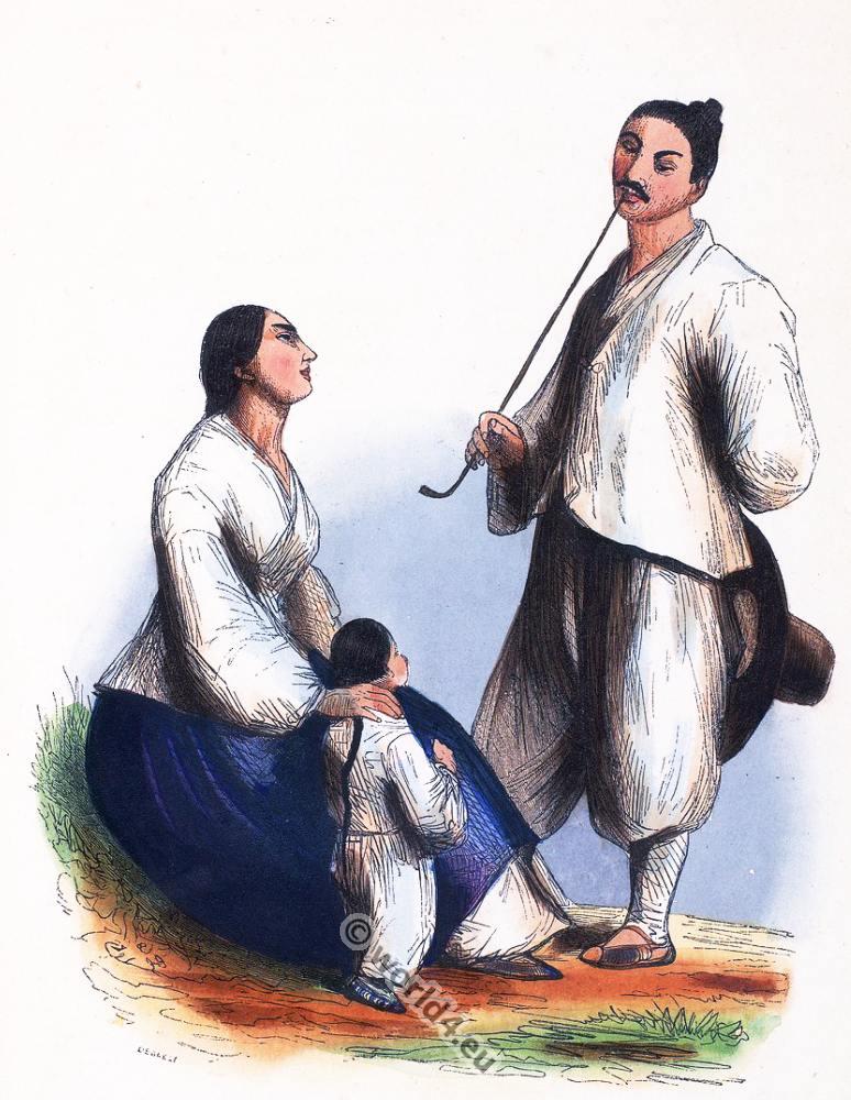 Japan, Asia, Fishermen, costumes, Auguste Wahlen