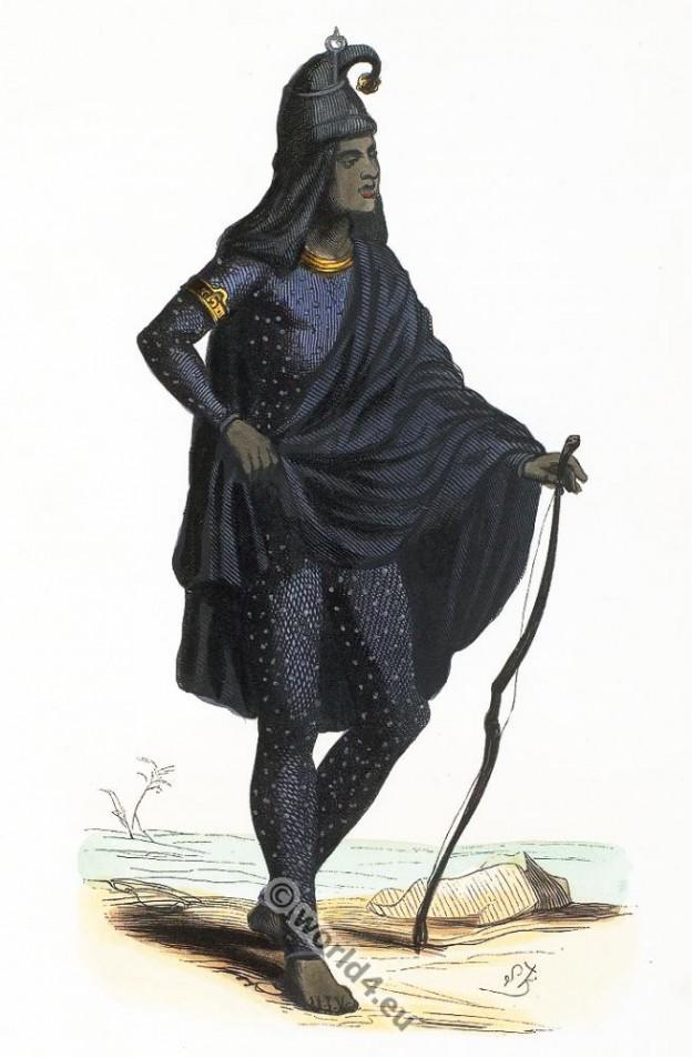 Lahore, Pakistan, clothing, dress, Asia, costumes, Auguste Wahlen