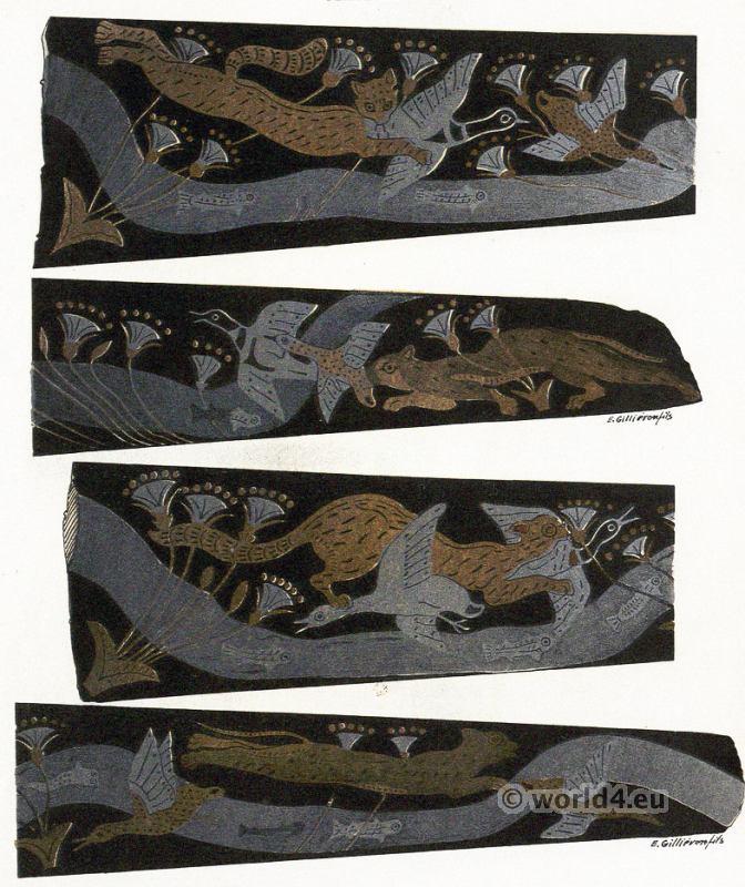 Mycenae, Dagger-Blade, Knossos, Minoan, Crete, Ancient,