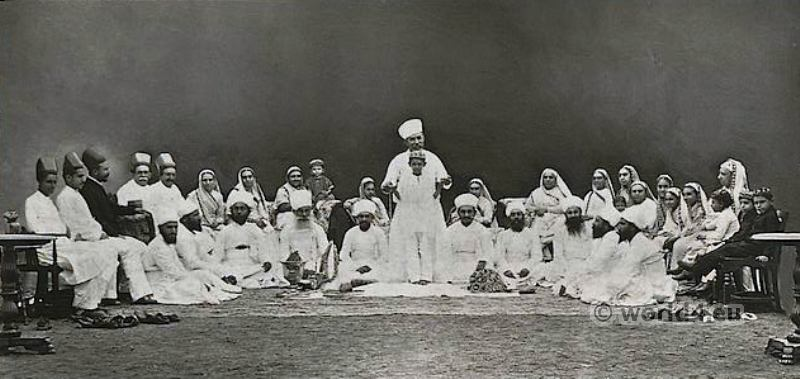 Parsee, Ceremony, Investiture Sudra, Kusti, Parsi, Zoroastrianism, India