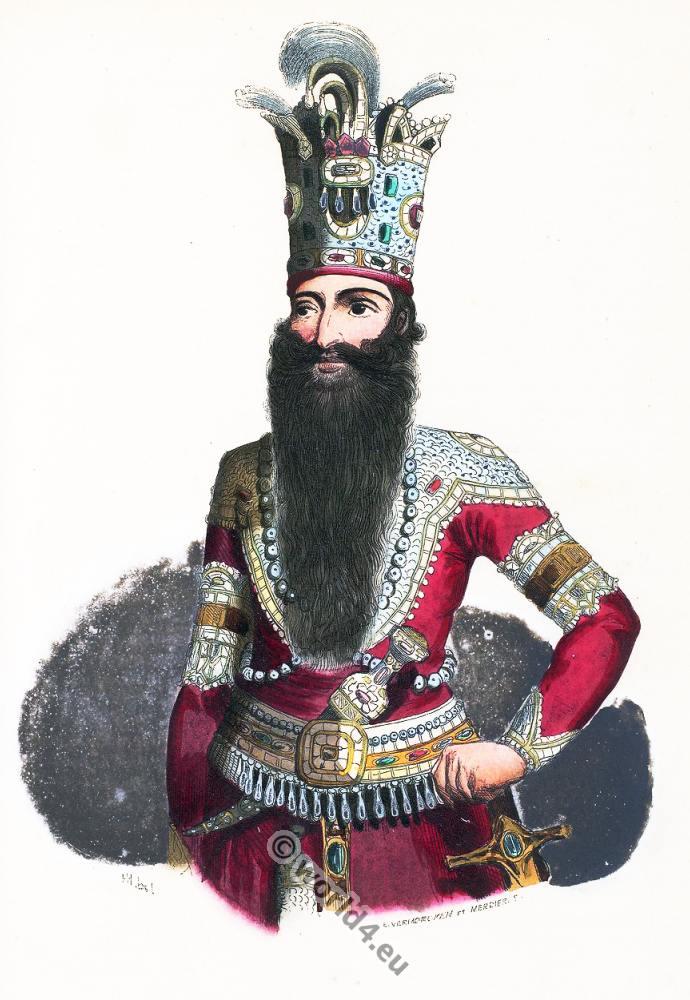 Shah, Persia, Perse
