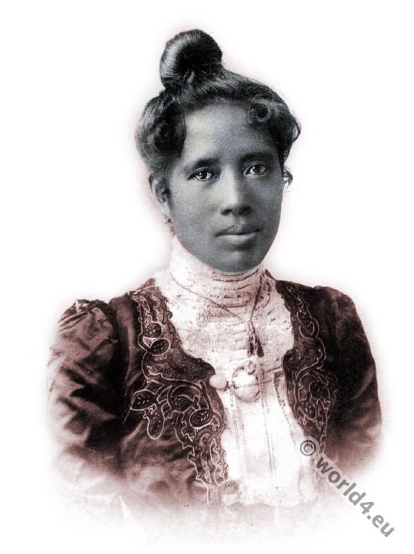 Ranavalona III., last queen of Madagascar, African queen,