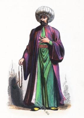 Imam, costume, Turkey, Ottoman Empire, clothing, Ecclesiastical, muslim
